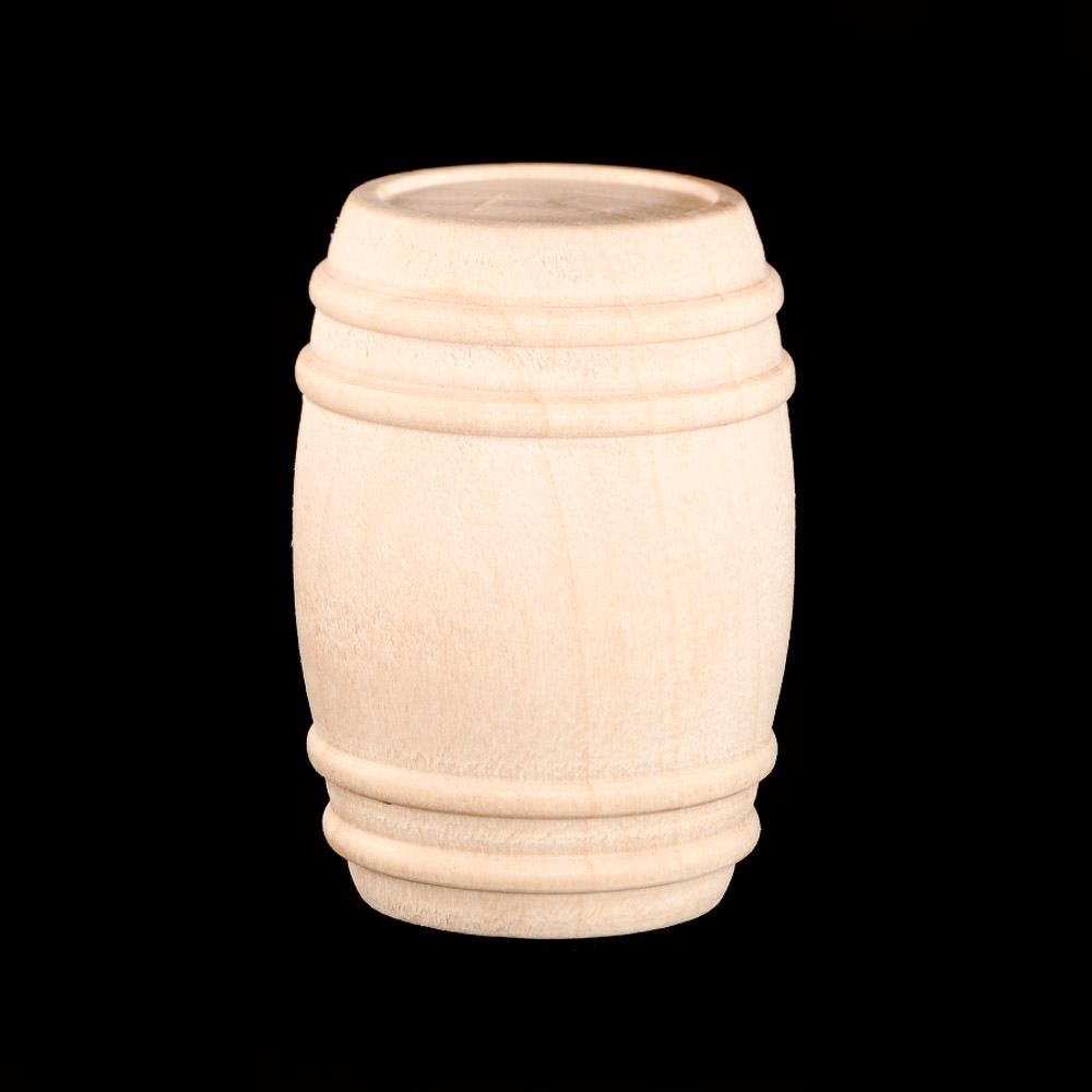 Premium Wood Pickle Barrel 1 18 Diameter X 1 58 Tall