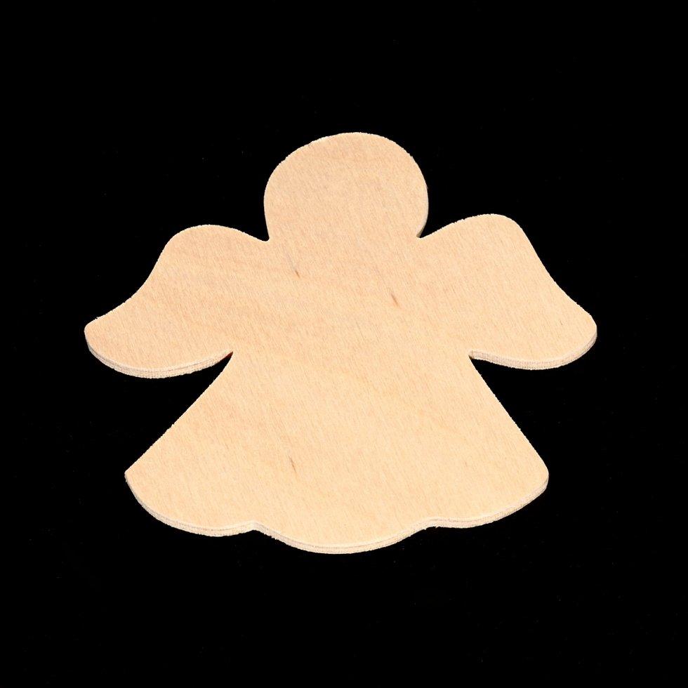 Angel Cutout - Hand Cut Plywood