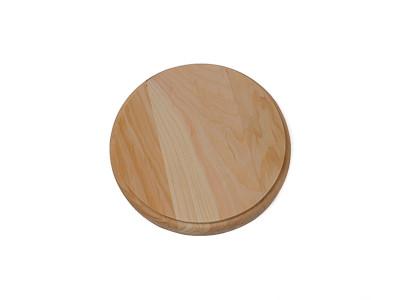 Wood Circle Plaques