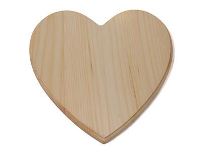 Wood Heart Plaques