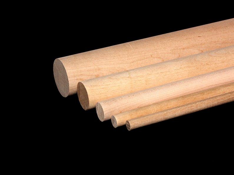 3/4 wood dowels